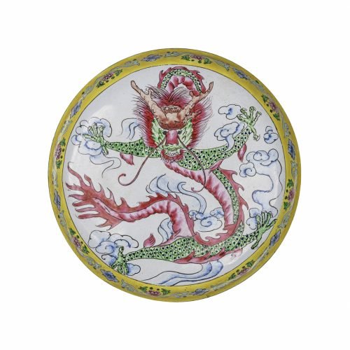 Chinese dragon box