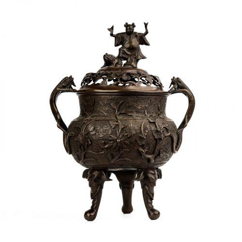 Chinese Bronze Censer Incense Burner