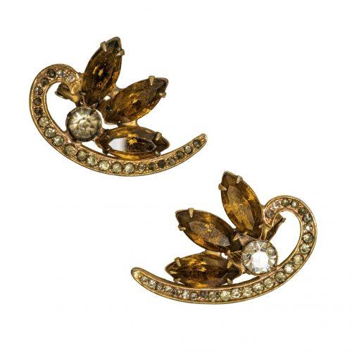 Rhinestone jewelry earrings