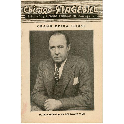 The Grand Opera House stagebill