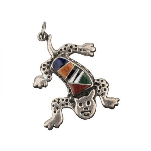 southwest jewelry cat pendant