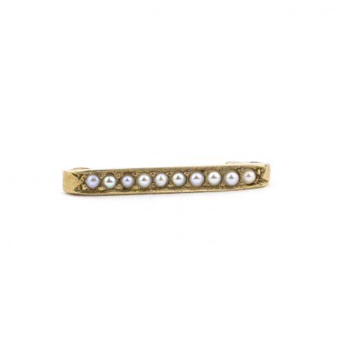 pearl jewelry gold pin
