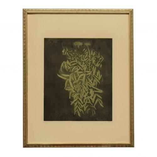 Leonard Baskin art print