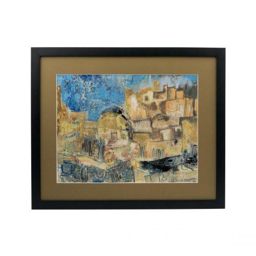 Robert Rosenberg modern art Judaica painting