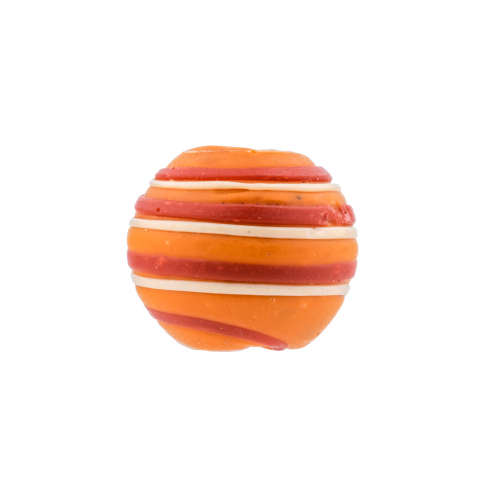 Orange jewelry Japanese ojime necklace bead