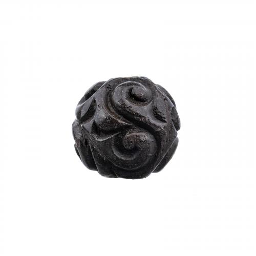 Guri lacquer Japanese ojime necklace bead