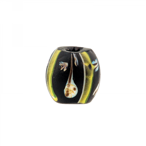 Millefiori glass African trade necklace bead