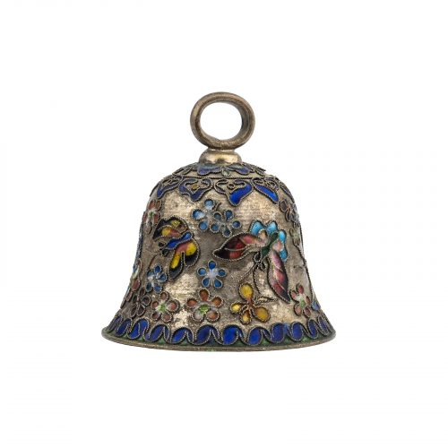 Decorative bell butterfly decoration