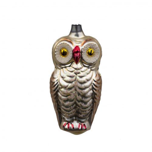 Vintage Christmas ornament owl