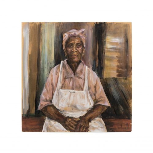 African American art portrait painting
