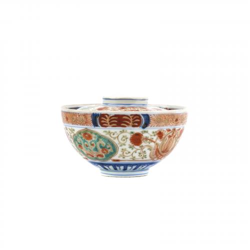 Antique Japanese Porcelain Imari Ceramic Bowl