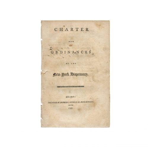 18th century new york city medical history