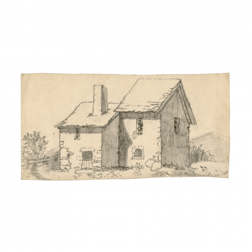 victorian era English drawing landscape art