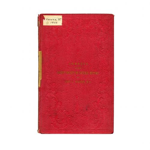 Boston society national history address 1853