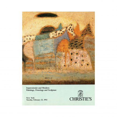 impressionist and modern paintings, drawings, and sculpture