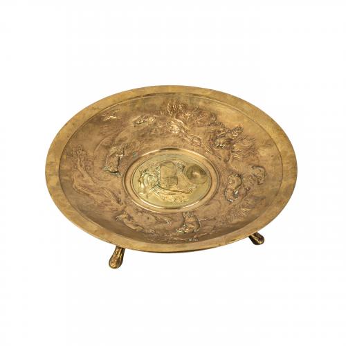 French bronze centerpiece