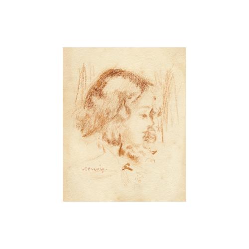 Pierre Auguste Renoir impressionist drawing