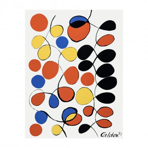 Alexander Calder abstract print