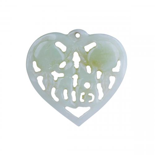 Jade Heart Pendant