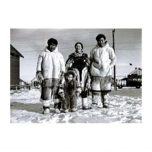 Eskimo family photograph