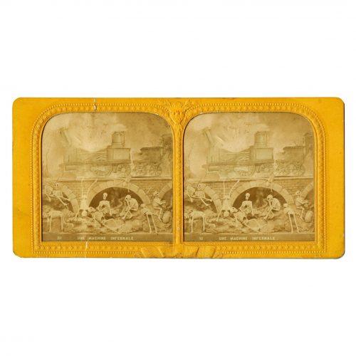 Stereoview Diableries Card