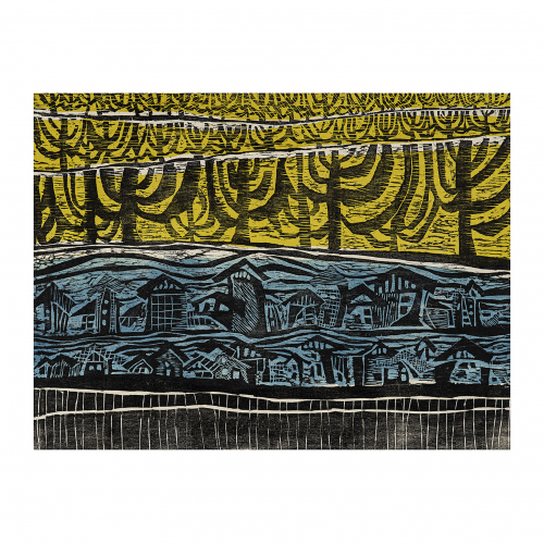 art print linocut