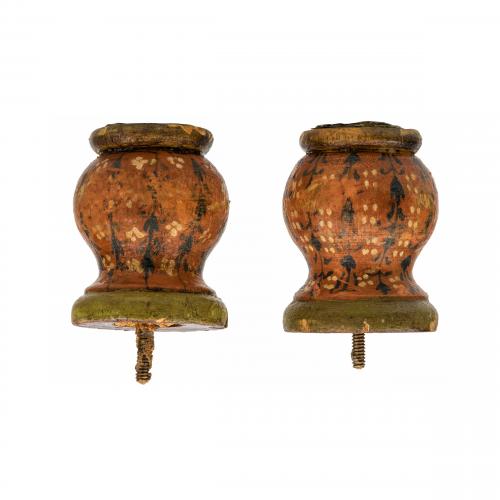 European Antique Wooden Knobs