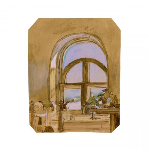 Edward Lear British watercolor