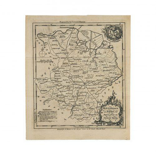 English Antique Map wall art