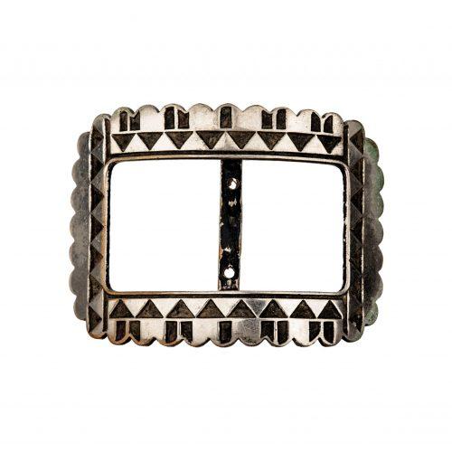 French Art Deco Belt Buckle