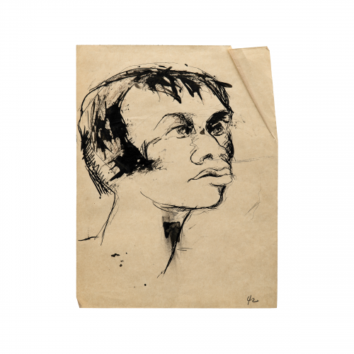Outsider Art Portrait