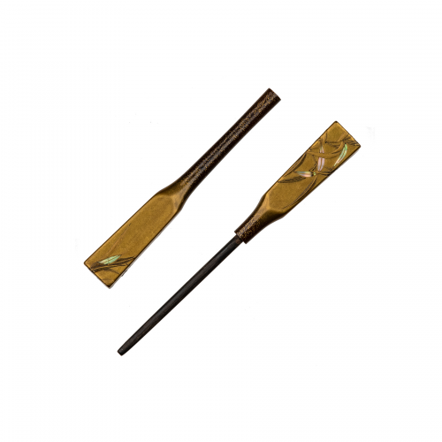 Japanese Lacquer Antique Hairpin