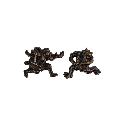 Japanese Demon Antique Jewelry Charms