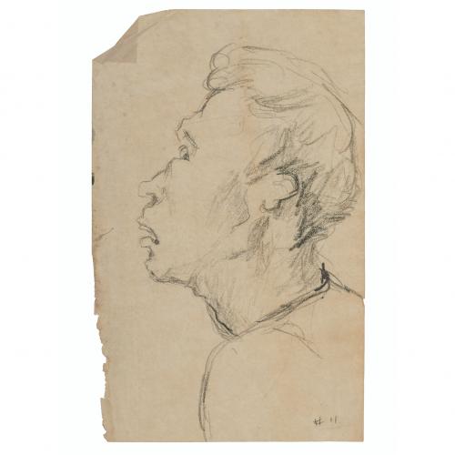 Outsider Art Portrait Head