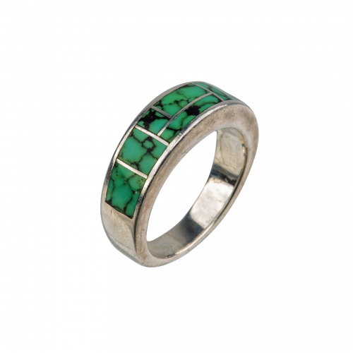 Green Turquoise Vintage Ring