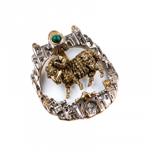Aries Zodiac Jewelry Pendant