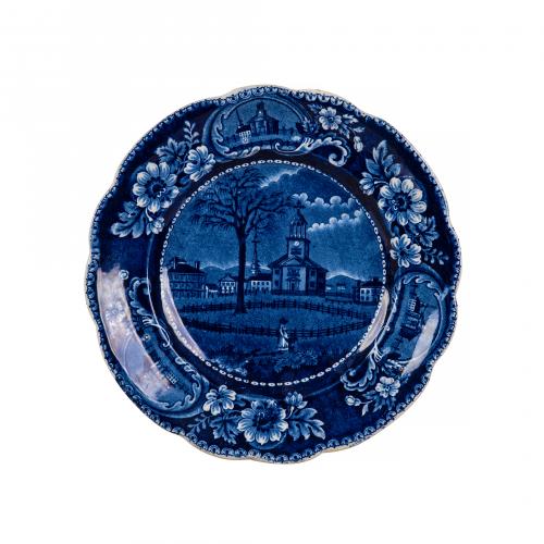Antique Transferware Decorative Plate