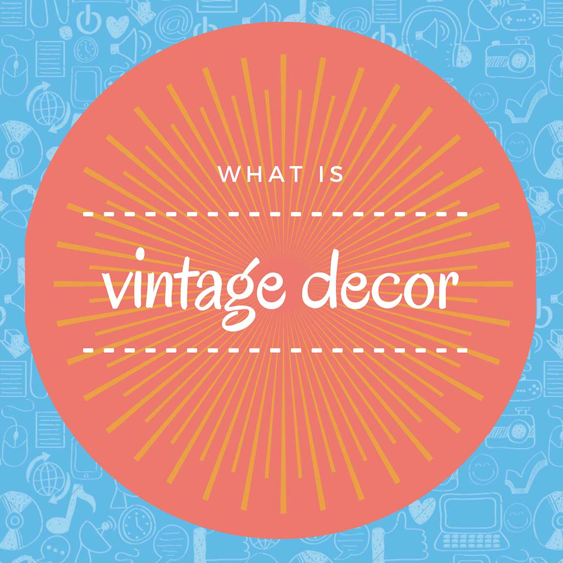 what is vintage decor