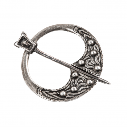 Antique Silver Brooch Pin