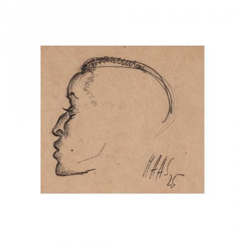 Profile Portrait Head Drawing