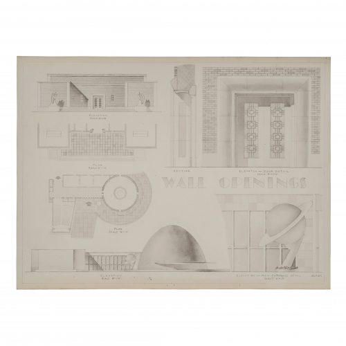 Vintage Architectural Drawing