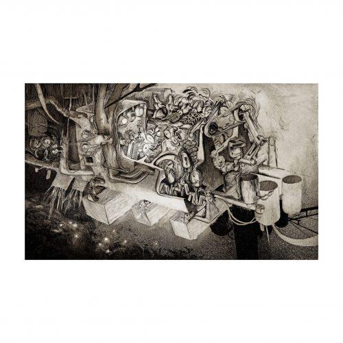 Vintage Surrealist Art Print