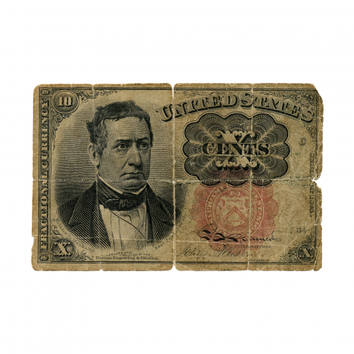 U.S. Fractional Currency Note