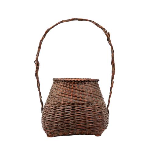 Japanese Floral Basket