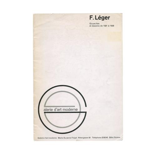 Fernand Leger Exhibition Catalog