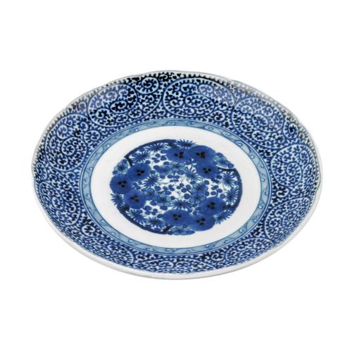 Japanese Porcelain Blue Dish