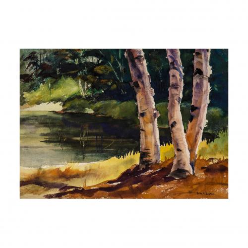 New Hampshire Landscape Painting