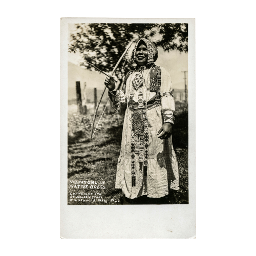 Indian Girl In Native Dress