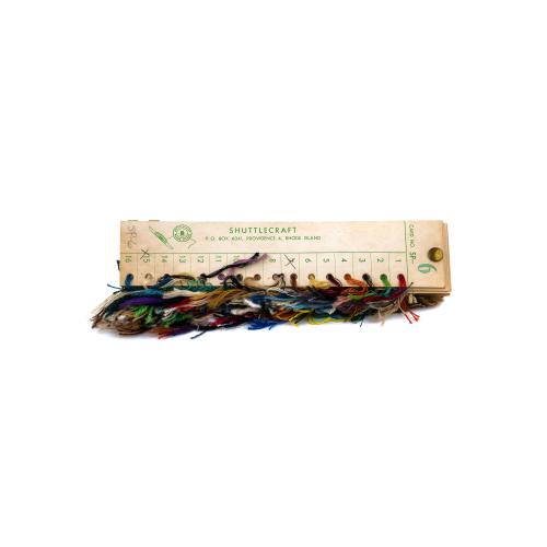 Yarn sample card