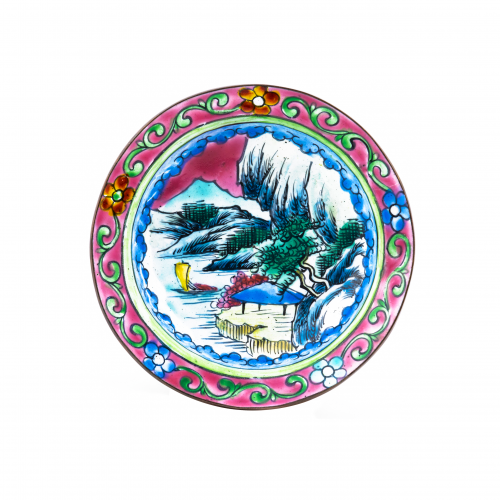 Chinese catchall tray